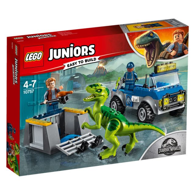 LEGO Jurassic World-10757-Juniors Raptor Rescue Truck-1
