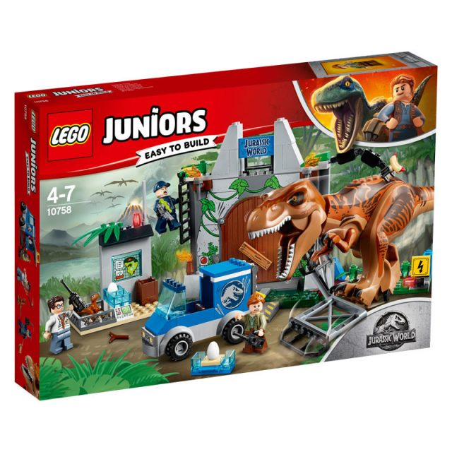 LEGO Jurassic World-10758-T. rex Breakout-1