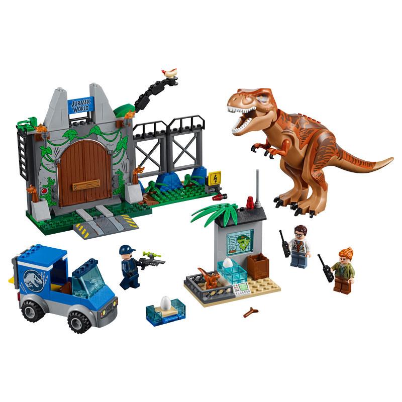 LEGO Jurassic World-10758-T. rex Breakout-2