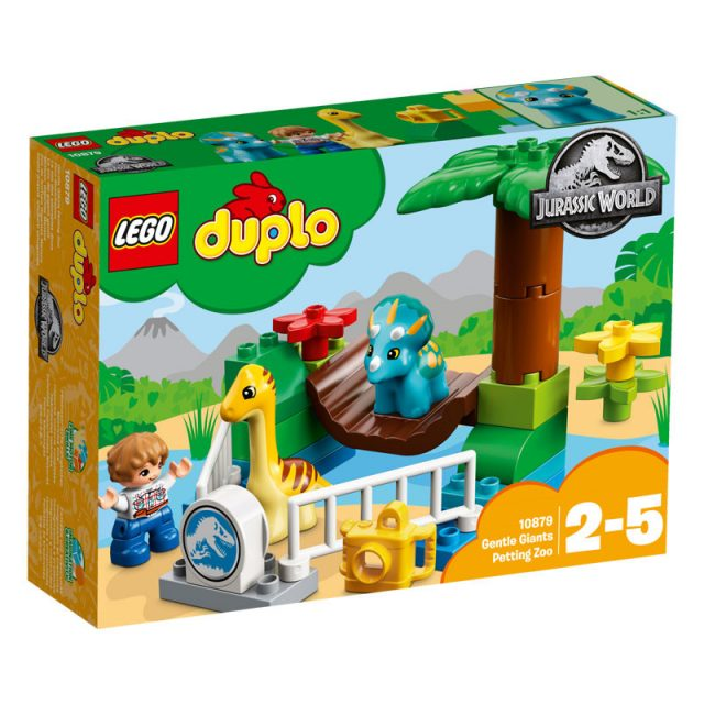 LEGO Jurassic World 10879-Duplo Gentle Giants Petting Zoo-1
