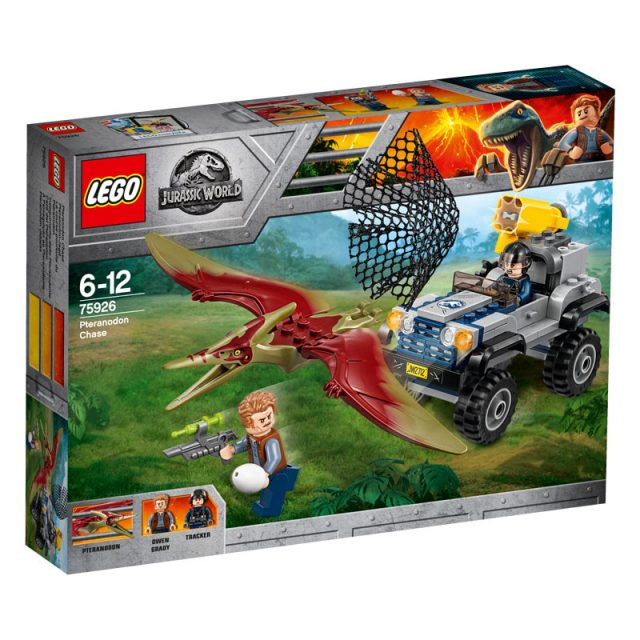 LEGO Jurassic World 75926-Pteranodon Chase 1