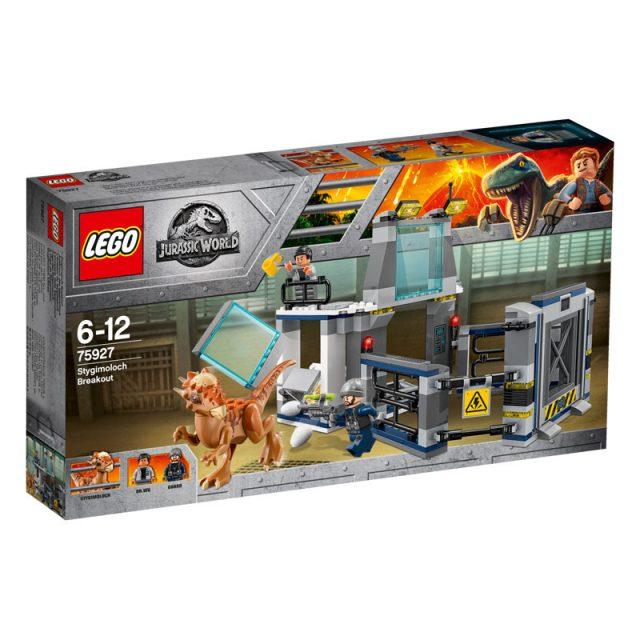 LEGO Jurassic World-75927-Stygimoloch Breakout 1