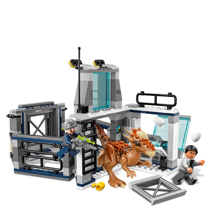 LEGO Jurassic World-75927-Stygimoloch Breakout 3