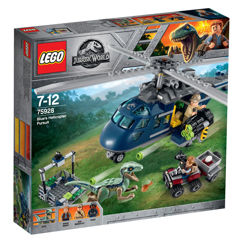 LEGO Jurassic World-75928-Blue's Helicopter Pursuit 1