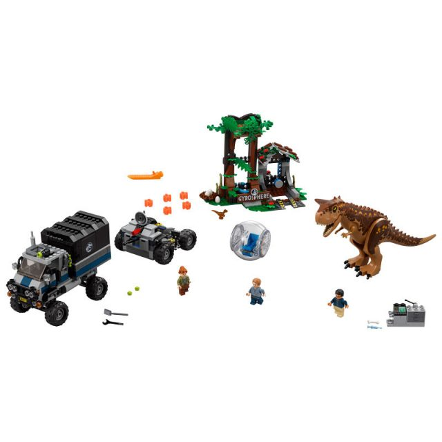 Complete Set Of Official Pictures For The New Lego Jurassic World