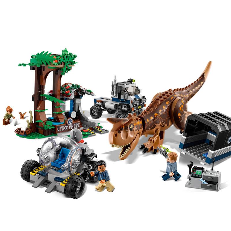 LEGO Jurassic World-75929-Carnotaurus Gyrosphere Escape 3