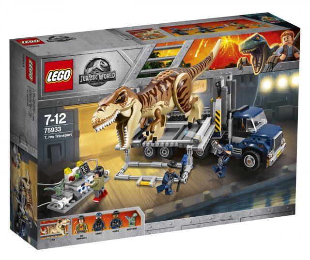 Lego Unveils The Complete Jurassic World Fallen Kingdom: Final LEGO Jurassic World Set Unveiled As 75933 T. Rex
