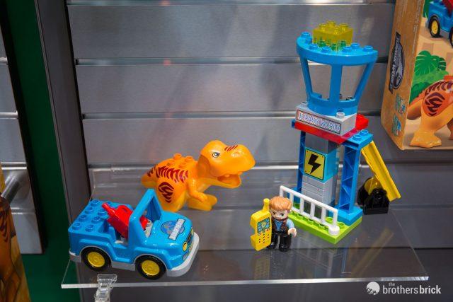 LEGO Jurassic World: Fallen Kingdom sets at New York Toy
