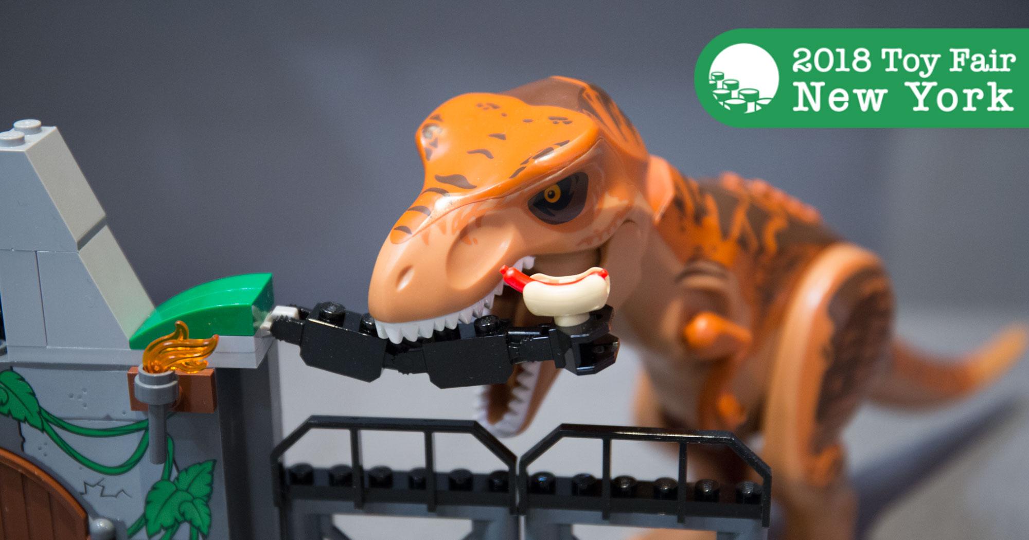 Lego Jurassic World Fallen Kingdom Sets At New York Toy