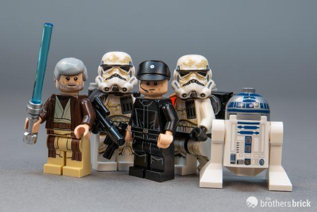 Lego Star Wars 75221 IMPERIAL LANDING CRAFT New Hope Obi-Wan Kenobi R2-D2 New