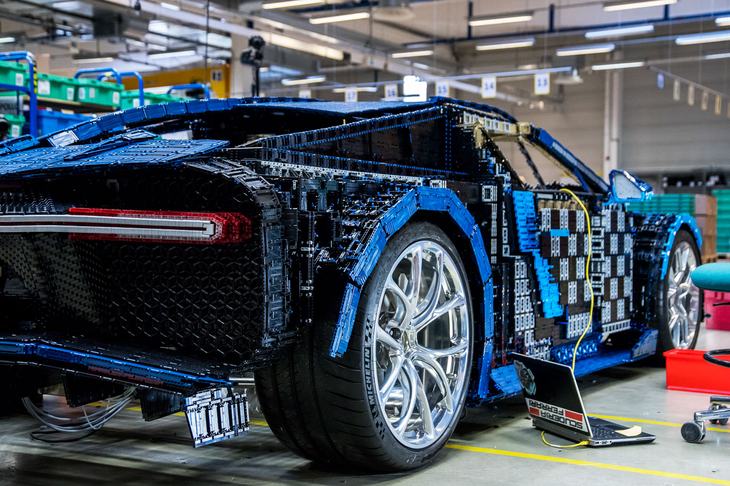 lego technic bugatti chiron life size model 37 the brothers brick. Black Bedroom Furniture Sets. Home Design Ideas