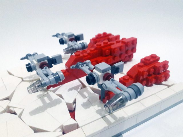 Mini Crait Diorama 2