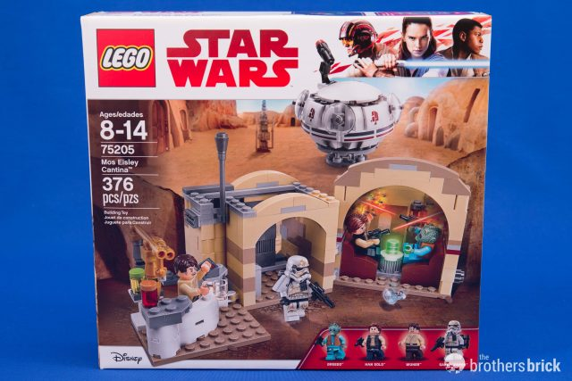 Lego Star Wars 75205 Mos Eisley Cantina How Does The 2018 Version