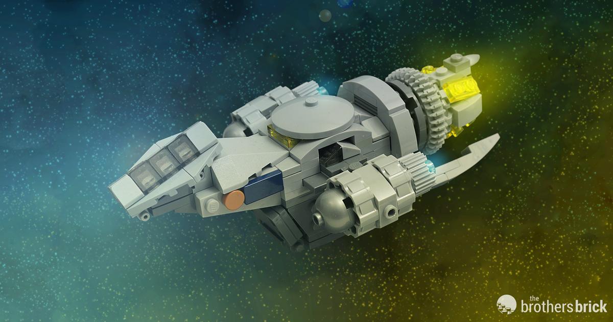Custom LEGO Outlaw Spaceship