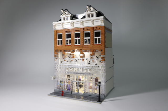 Chanel Crystal House glistens in LEGO bricks | The Brothers Brick