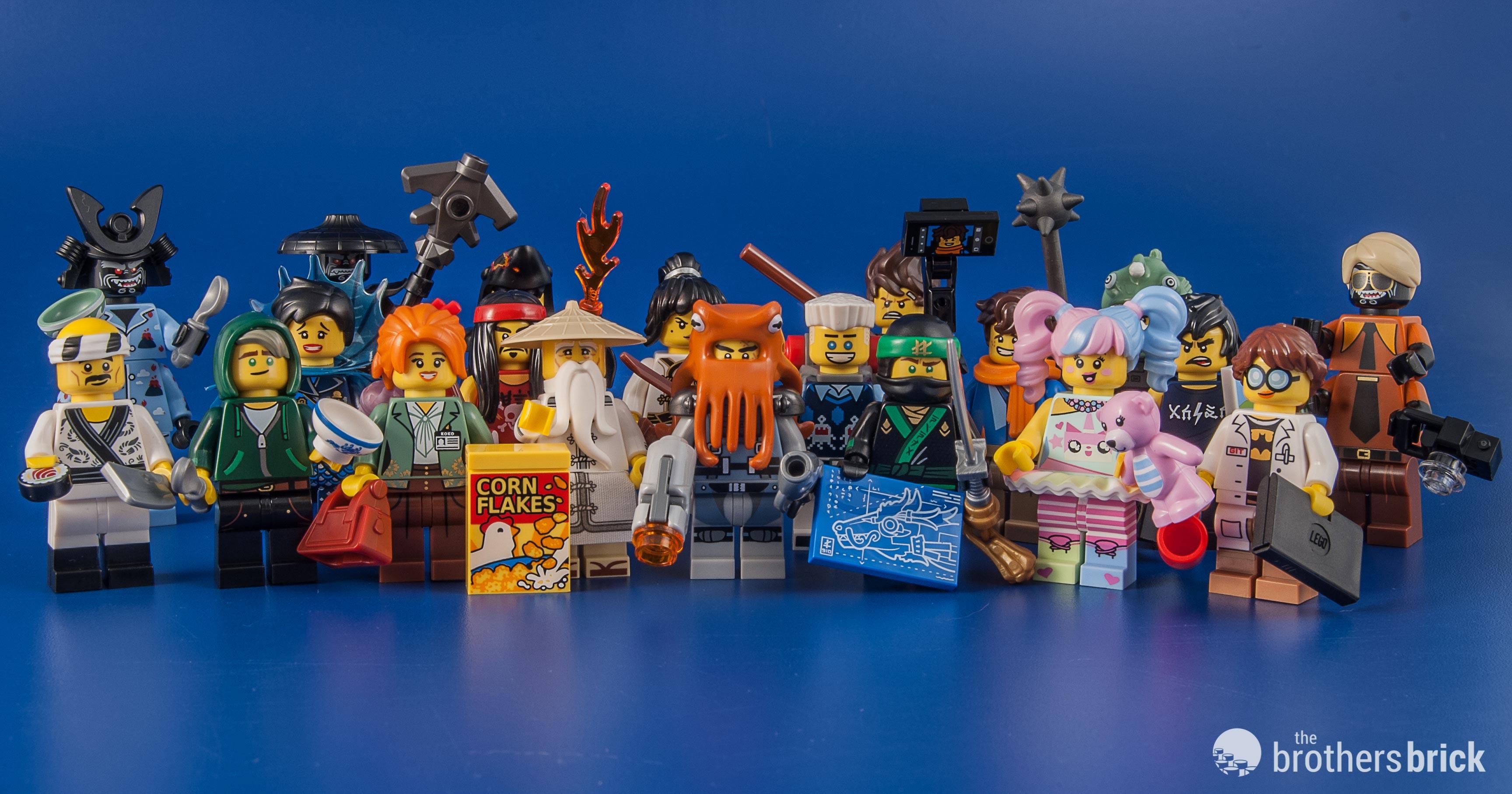 NEW LEGO Ninjago Movie 71019 COMPLETE SET OF 20  MINIFIGURES SEALED UNOPENED
