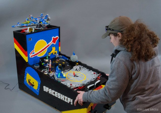 LEGO Working Pinball Machine