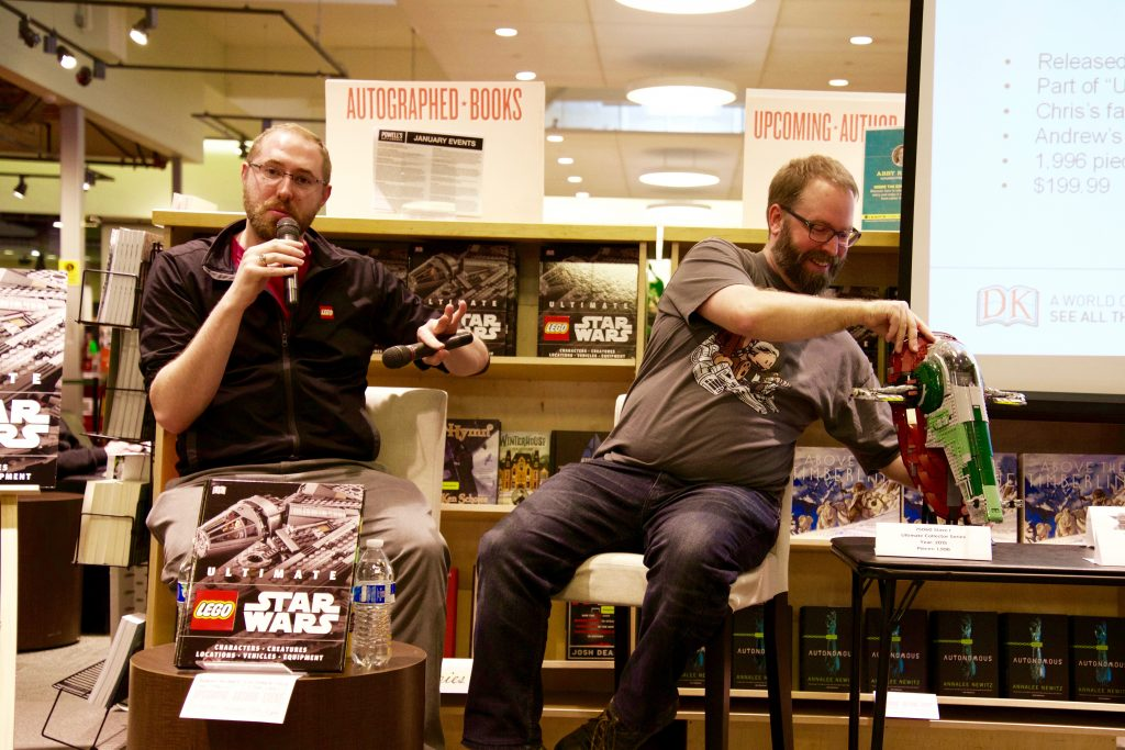 Chris Malloy & Andrew Becraft present at Powell's Books Portland
