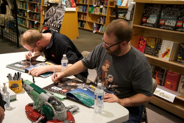 Chris Malloy & Andrew Becraft signing at Powell's Books Portland
