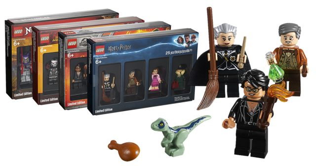 Toys R Us LEGO minifigure packs revealed, featuring Harry Potter