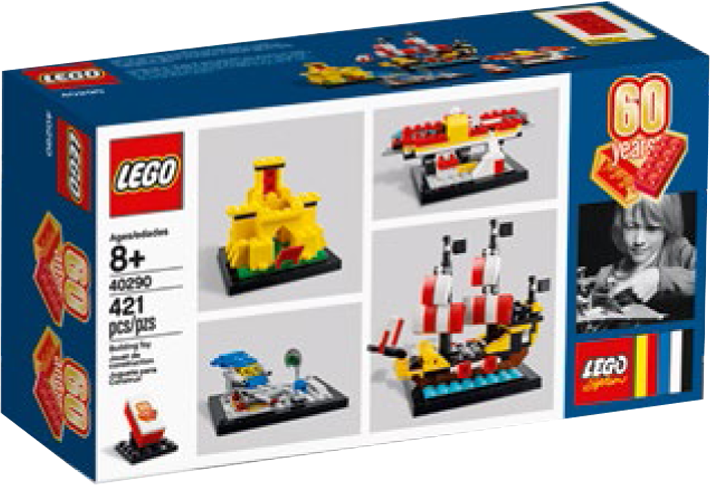 Legos 60th Anniversary Set Revealed Featuring Mini Models Of