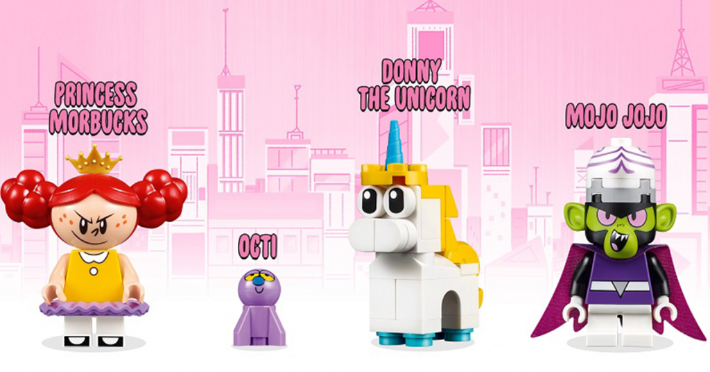 LEGO Powerpuff Girls minifigures (2)