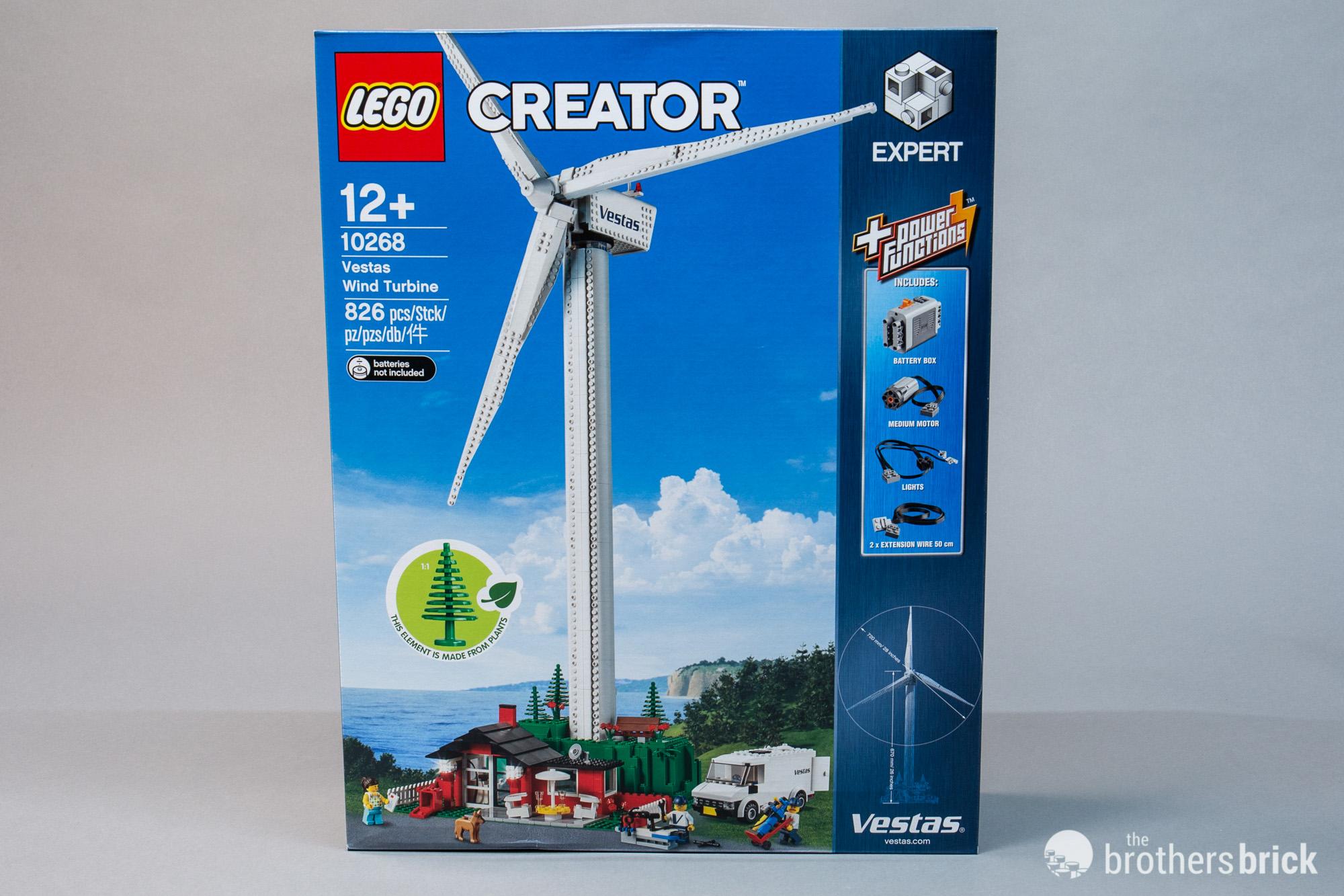 LEGO 10268 Vestas Wind Turbine is back as the newest Creator