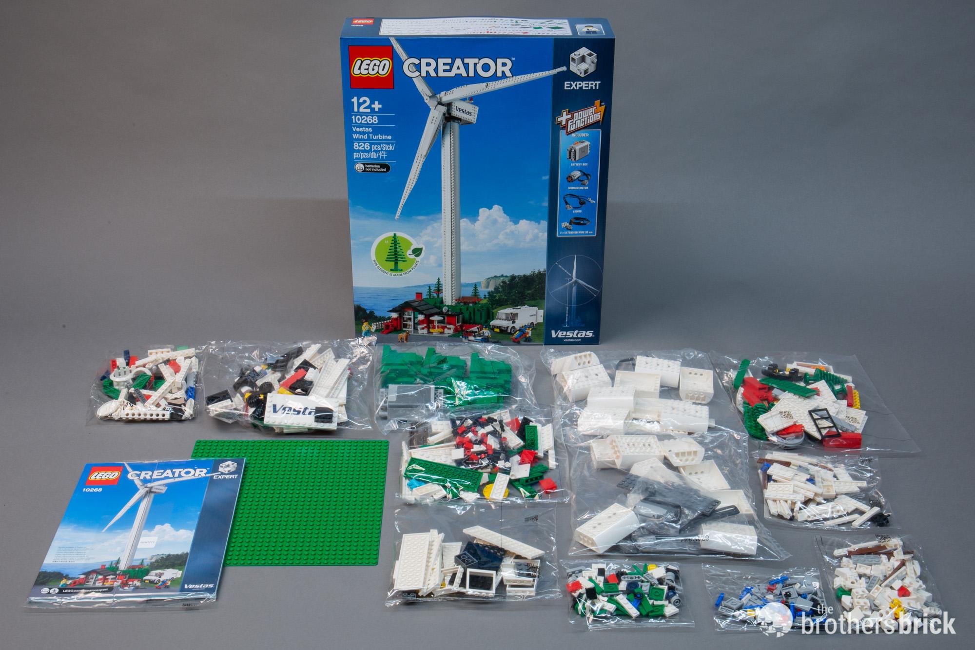 LEGO 10268 Vestas Wind Turbine is back as the newest Creator Expert