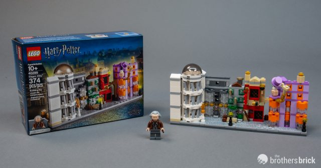 Lego Harry Potter 40289 Diagon Alley Gift With Purchase Available