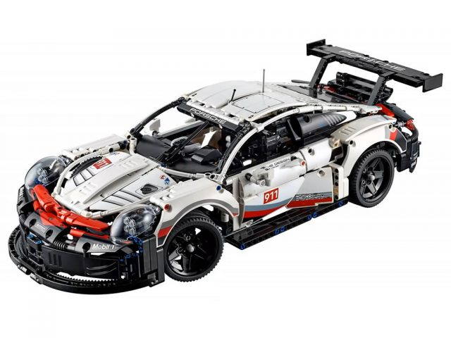 Lego Technic 42096 Porsche 911 Rsr Is Revealed News The