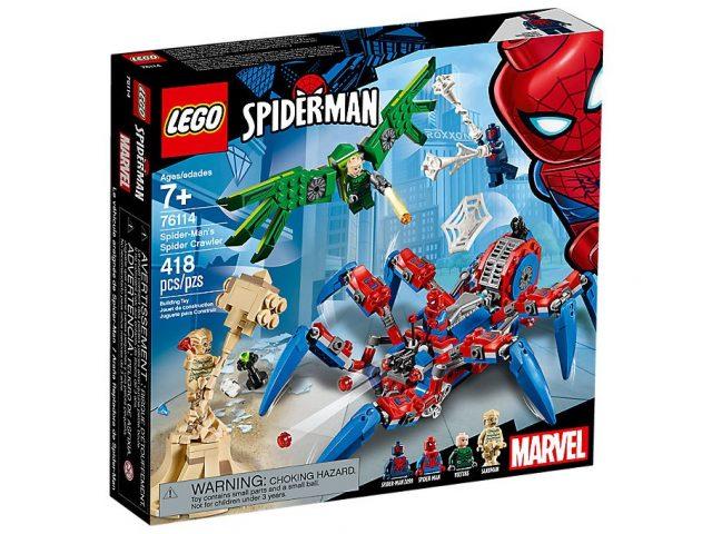 LEGO 76133 Marvel Super Heroes Spider Man Car Chase Adventure Building Toy Set