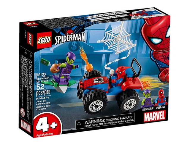 Five new LEGO Spider-Man sets revealed, available this ...