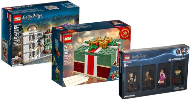 Early Black Friday Sales Include Lego Holiday Exclusives And