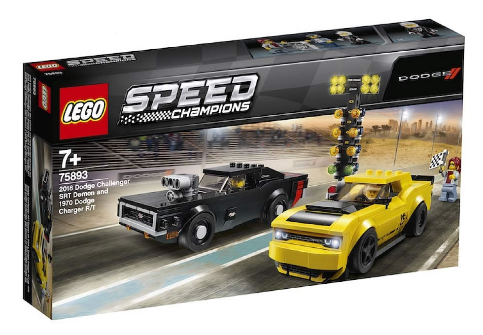 Lego 75893 Speed Champions 2018 Dodge Challenger Srt Demon