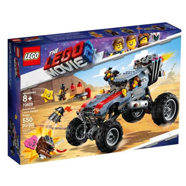 Lego The Lego Movie 2 Offroader with instructions /& stickers NEW!!!
