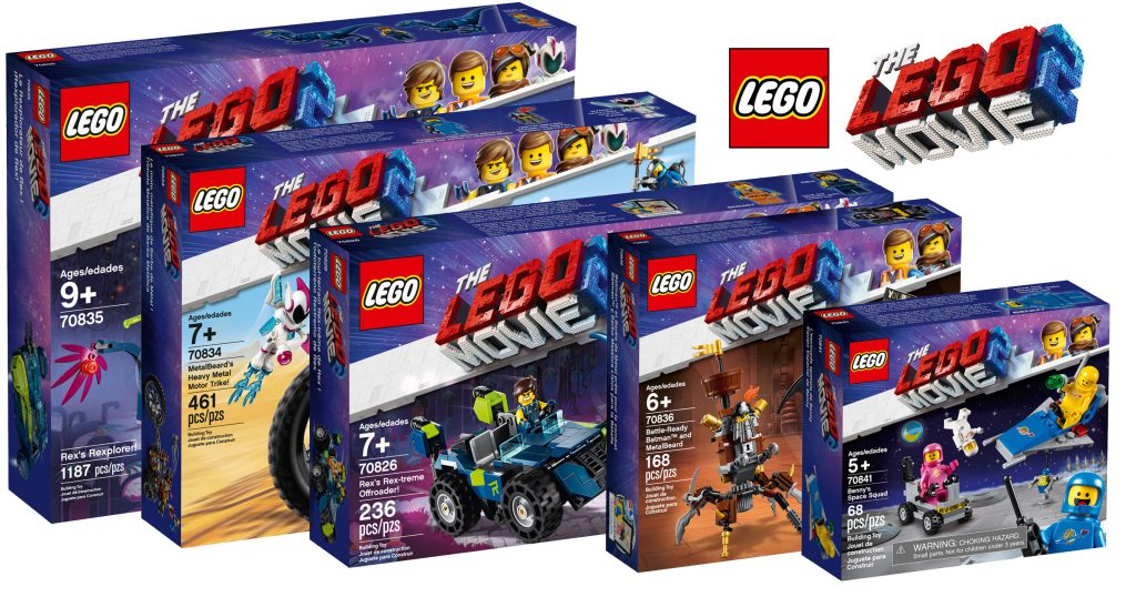 The Lego Movie 2 Sets Now Available With Free Movie