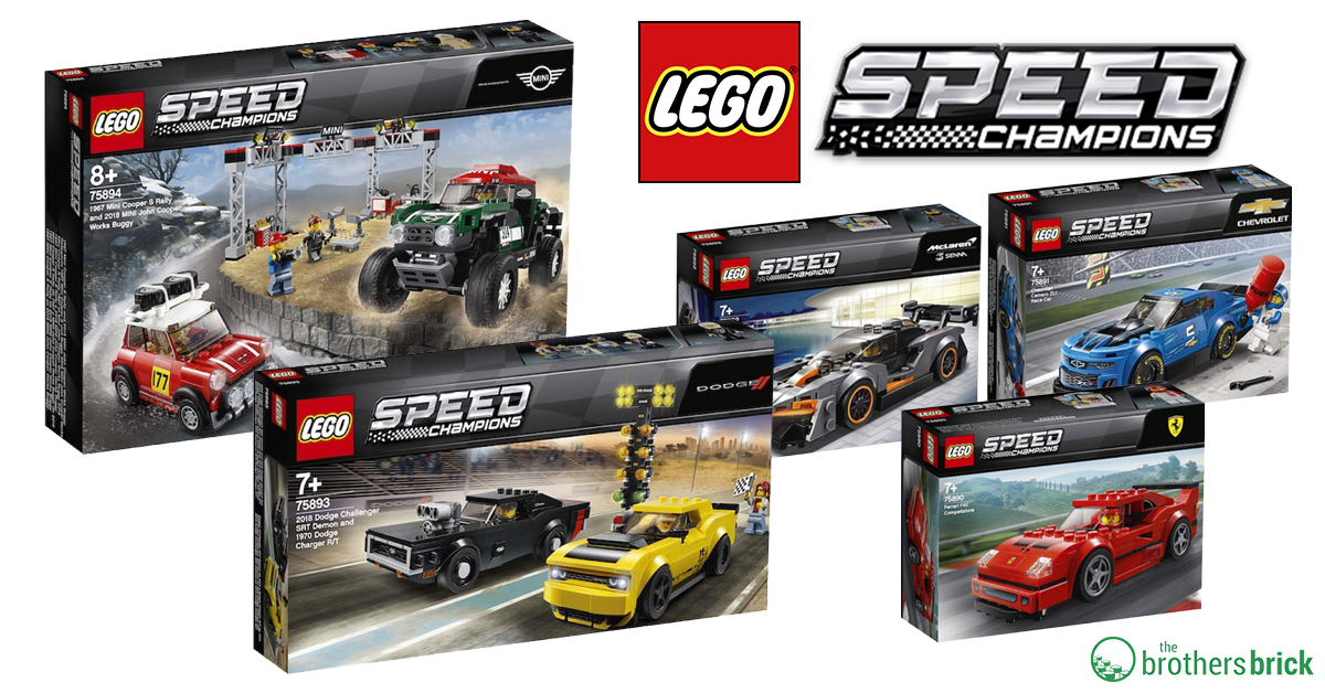 speed champions 2019 fb the brothers brick the brothers brick. Black Bedroom Furniture Sets. Home Design Ideas