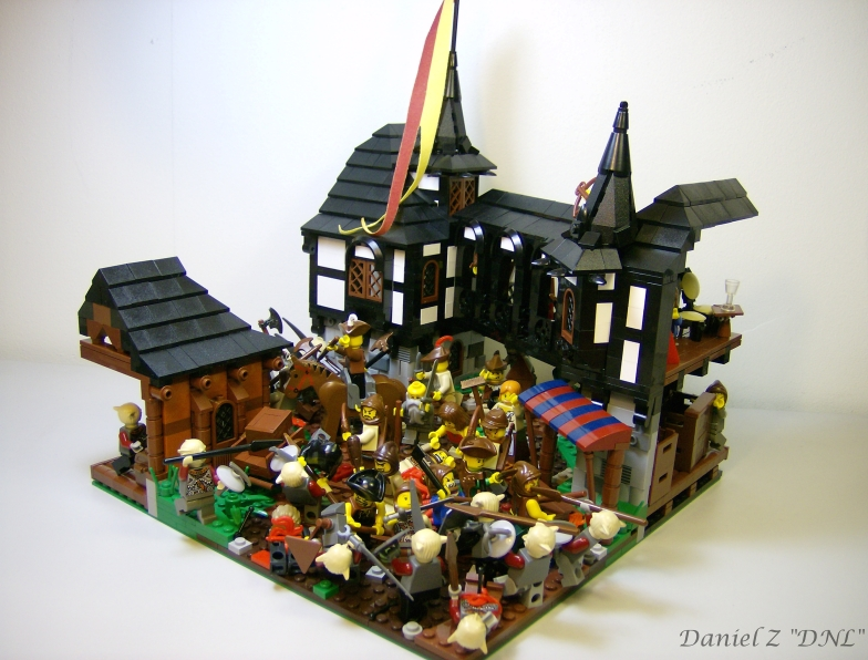 LEGO Village Defense