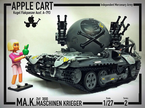 Mercenary A-793 'Apple Cart'