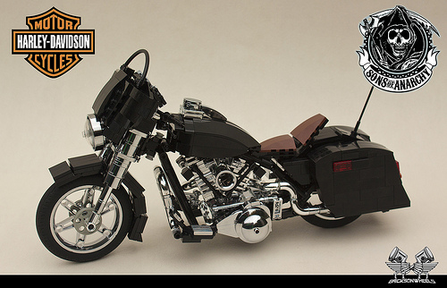 'Sons of Anarchy' Harley Davidson Street Glide