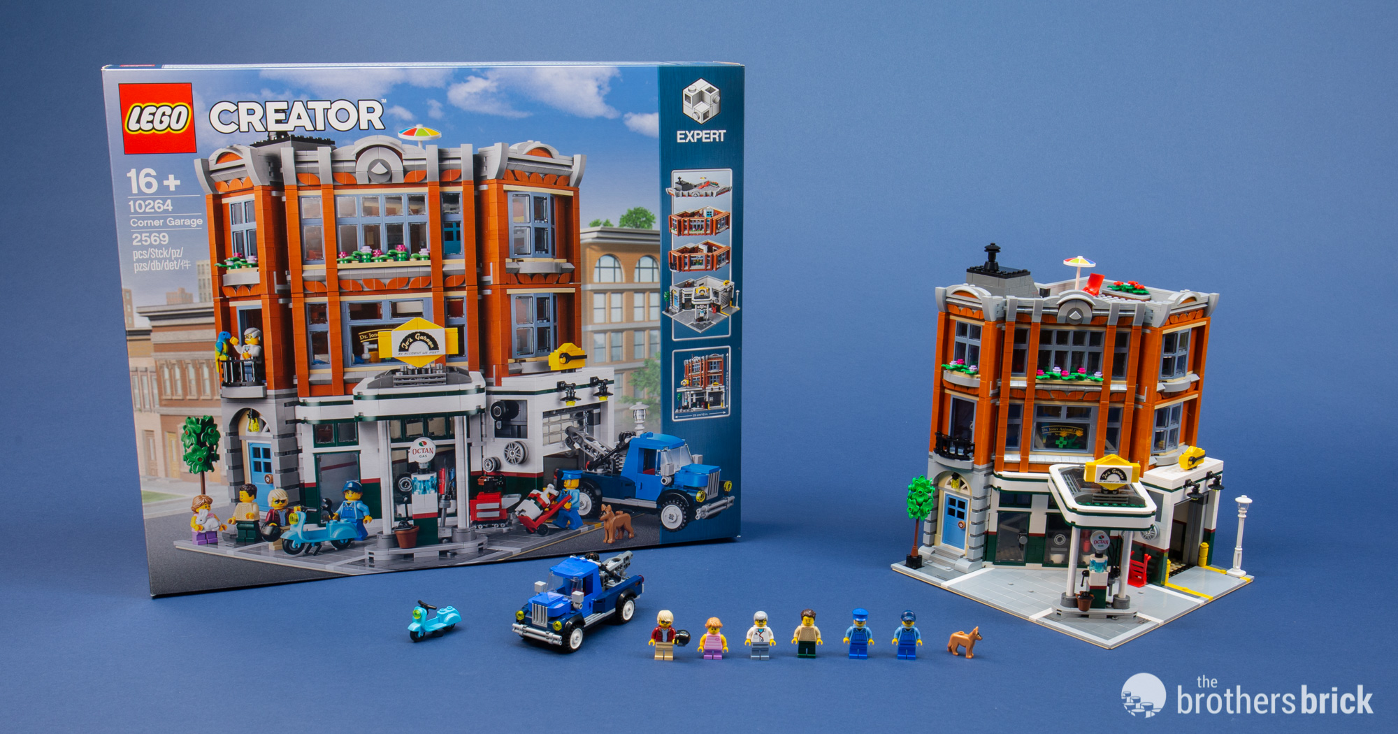 LEGO Creator Expert 10264 Corner Garage [Review] | The