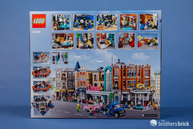 LEGO Creator Expert 10264 Corner Garage [Review] | The Brothers