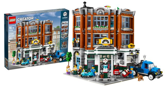 10264 Corner Garage Revealed As 2019 Lego Creator Expert Modular
