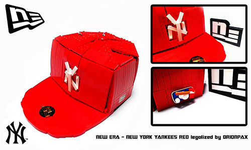 LEGO New Era NY Yankees Cap by Orion Pax  b521e58f1db