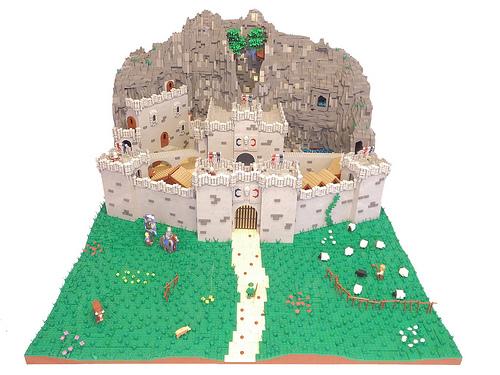 Brickcon castle
