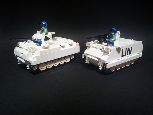 UN M113 APC and AIFV