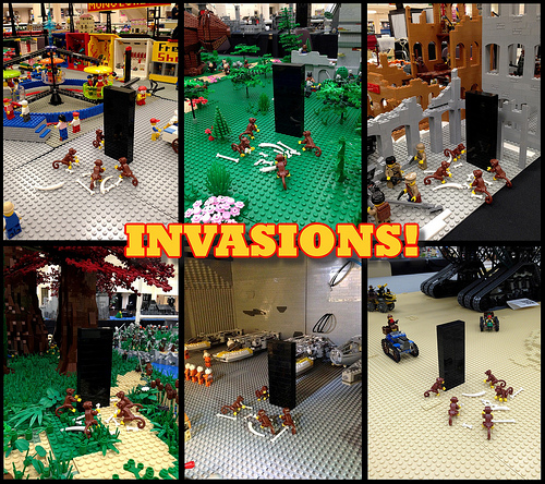 INVASIONS at BrickCon 2013