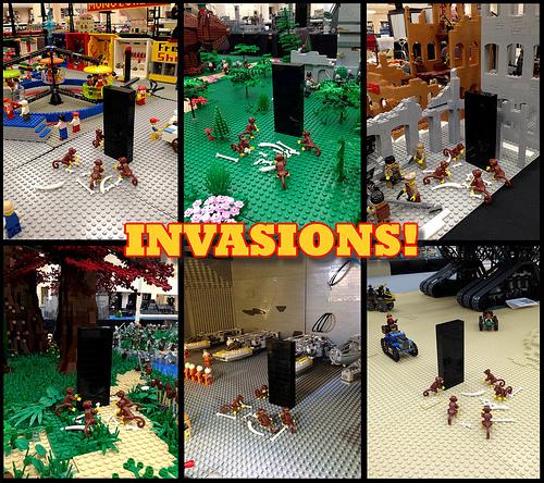 INVASIONS at BrickCon 2013