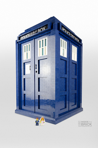 Awesome LEGO TARDIS 1