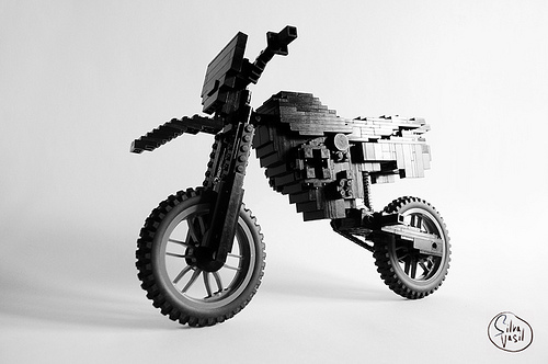 Lego Black Rebel Bike